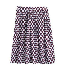 J CREW sunglass print patio skirt 10